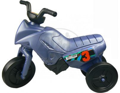 Odrážedlo motorka Enduro malé 150 - Modrá metalická