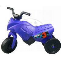 Odrážedlo motorka Enduro malé 150 - Modrá tmavá