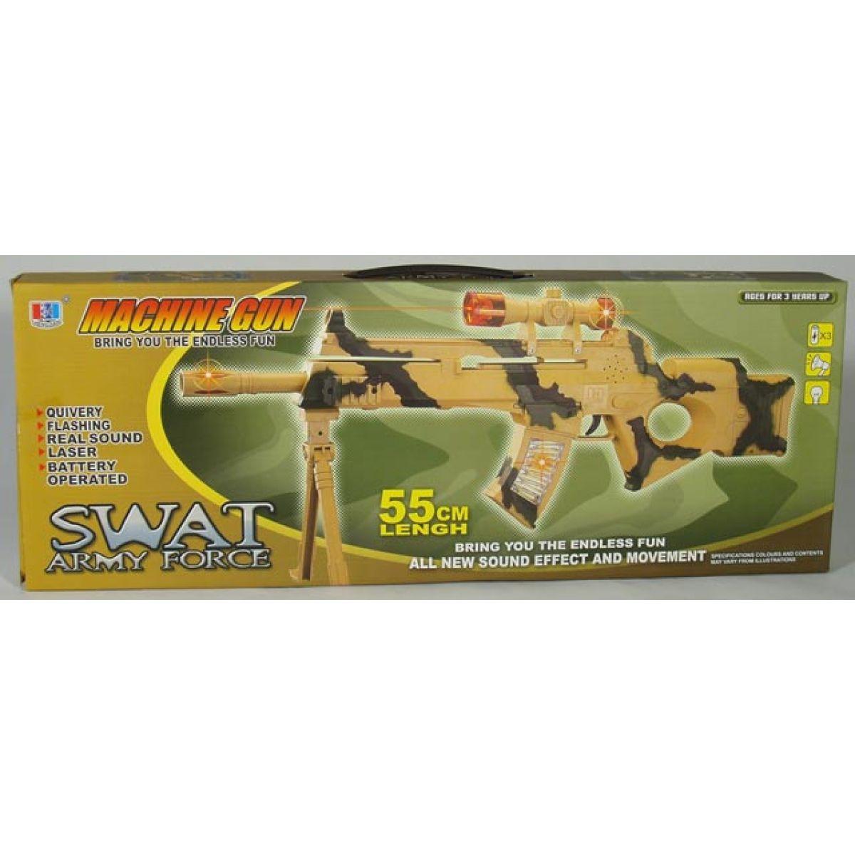 Odstřelovačská puška SWAT na baterie