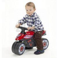 Odstrkovadlo - motorka červená