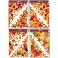 Anděl Okenní fólie rohová 38 x 30 cm Podzimní listí