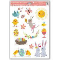 Anděl Okenní fólie Veselé Velikonoce 33,5 x 26 cm obrázek 1