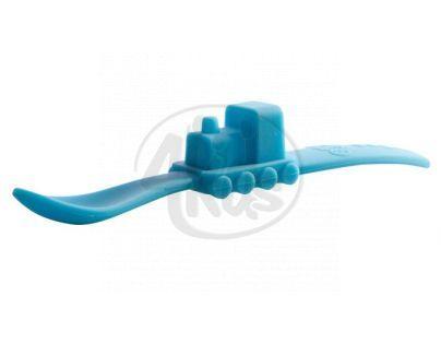 Oogaa Lžička vláček - 3 druhy - Modrá