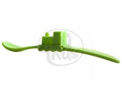 Oogaa Lžička vláček - 3 druhy - Zelená