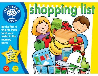 Orchard Toys Angličtina hrou Shopping list