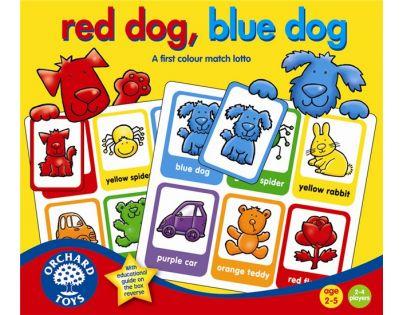 Orchard Toys Červený pejsek, modrý pejsek