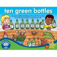Orchard Toys Hra Deset zelených lahví