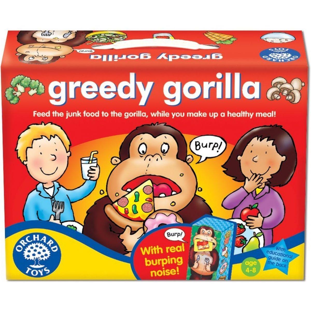 Orchard Toys Hladová Gorila