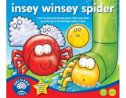 Orchard Toys Hra Leze pavouk, leze vzhůru