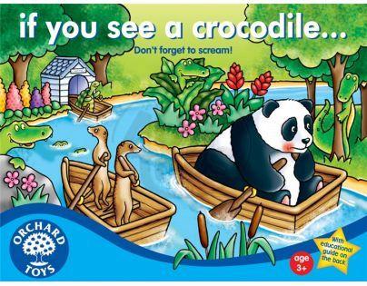 Orchard Toys Hra Pozor Krokodýl!