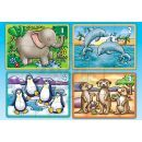 Orchard Toys Puzzle Animals 4 obrázky 2