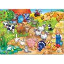 Orchard Toys Puzzle Kdo žije  na farmě? 20 dílků 2