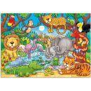 Orchard Toys Puzzle Kdo žije v džungli? 25 dílků 2