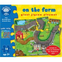 Orchard Toys Puzzle Na farmě 14 dílků