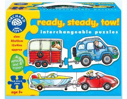 Orchard Toys Puzzle Připravit, vyrovnat, odtáhnout!