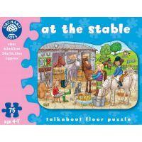 Orchard Toys Puzzle Ve stáji 75 dílků