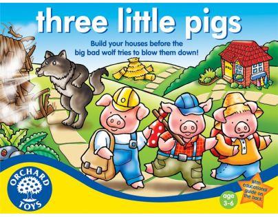 Orchard Toys Hra Tři malá prasátka