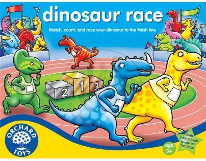 Orchard Toys Závody dinosaurů