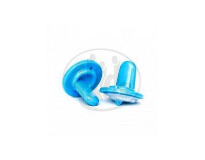 OrganicKidz Pítko světle modré pro láhve 2 ks