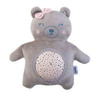 Pabobo musical Star projektor baterie Teddy Girl