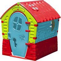PalPlay Domeček s osvětlením Benaton Zeleno-modrý