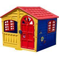 Palplay Domeček House of Fun - Žluto-modrý
