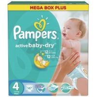 Pampers Active Baby 4 Maxi 147ks