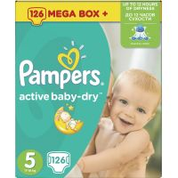 Pampers Active Baby 5 Junior 126ks