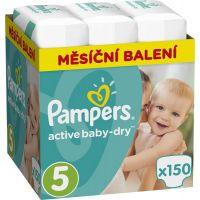 Pampers Active Baby 5 Junior 150ks