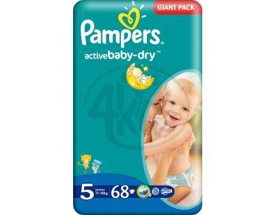 Pampers Active Baby 5 Junior 68ks