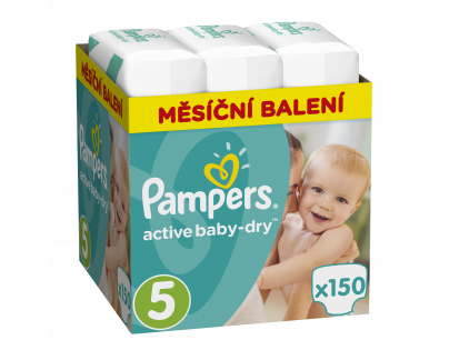 Pampers Active Baby Monthly Box S5 150ks