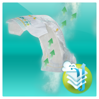 Pampers Active Baby Monthly Box S6 124ks 4