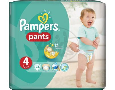 Pampers Kalhotkové plenky Carry Pack 4 Maxi 24ks