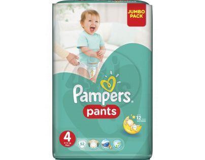 Pampers Kalhotkové plenky Jumbo Pack 4 Maxi 52ks
