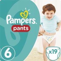 Pampers Kalhotkové plenky Carry Pack 6 Extra Large 19 ks
