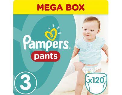 Pampers kalhotkové plenky Mega Box S3 120 ks