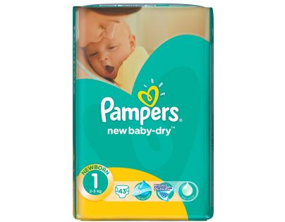 Pampers New Baby 1 Newborn 43ks