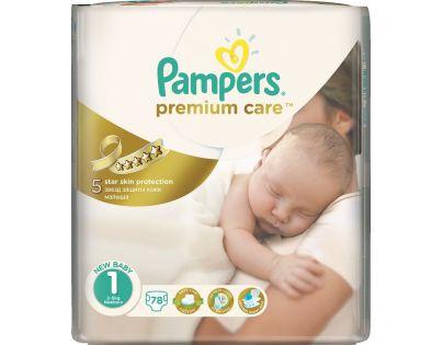 Pampers Premium Care 1 Newborn 78ks