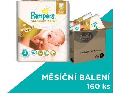 Pampers Premium Care 2 Mini 160 ks