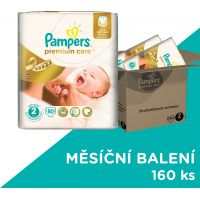 Pampers Premium Care 2 Mini 160 ks