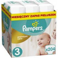 Pampers Premium Care 3 Midi 204ks