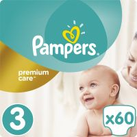 Pampers Premium Care 3 Midi 60ks