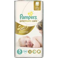 Pampers Premium Care 5 Junior 56ks - Poškozený obal 2