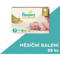 Pampers Premium Care 5 Junior 88ks