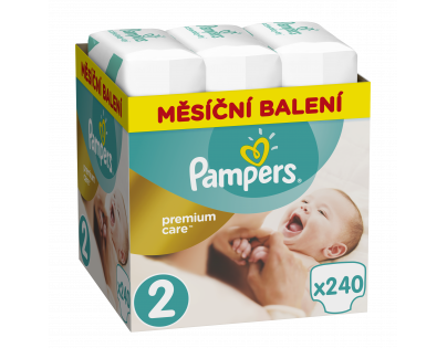 Pampers Premium Care 2 MINI 3-6 kg 240ks