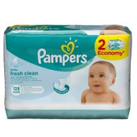 Pampers ubrousky Fresh Clean 2 x 64 ks 3