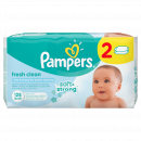 Pampers ubrousky Fresh Clean 2 x 64 ks 2