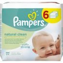 Pampers Ubrousky Natural Clean 6x64ks 2