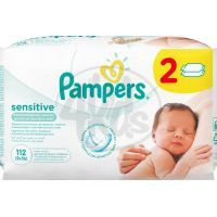 Pampers Ubrousky Sensitive 2x56ks
