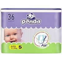 Panda dětské plenky Junior á 36 ks